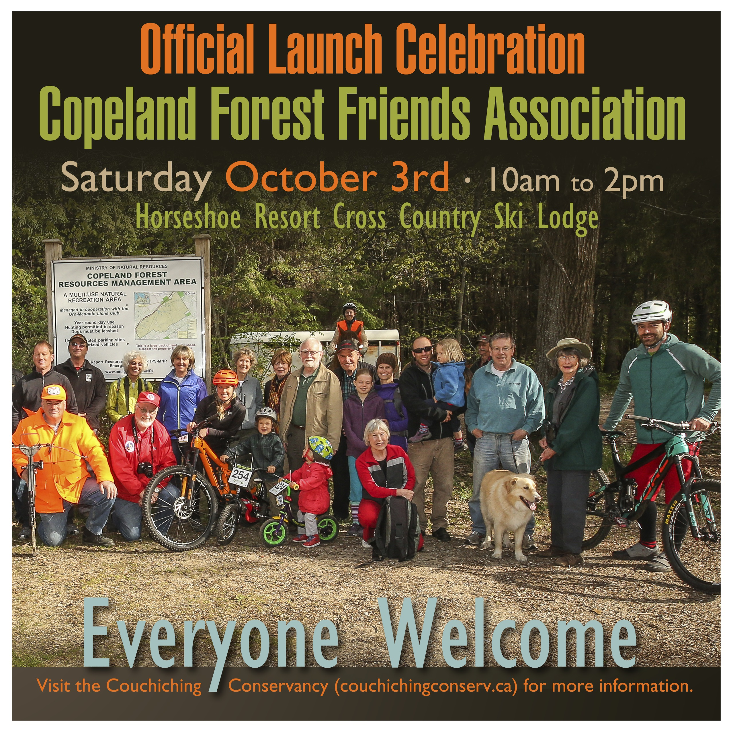 Copeland Forest Friends launch